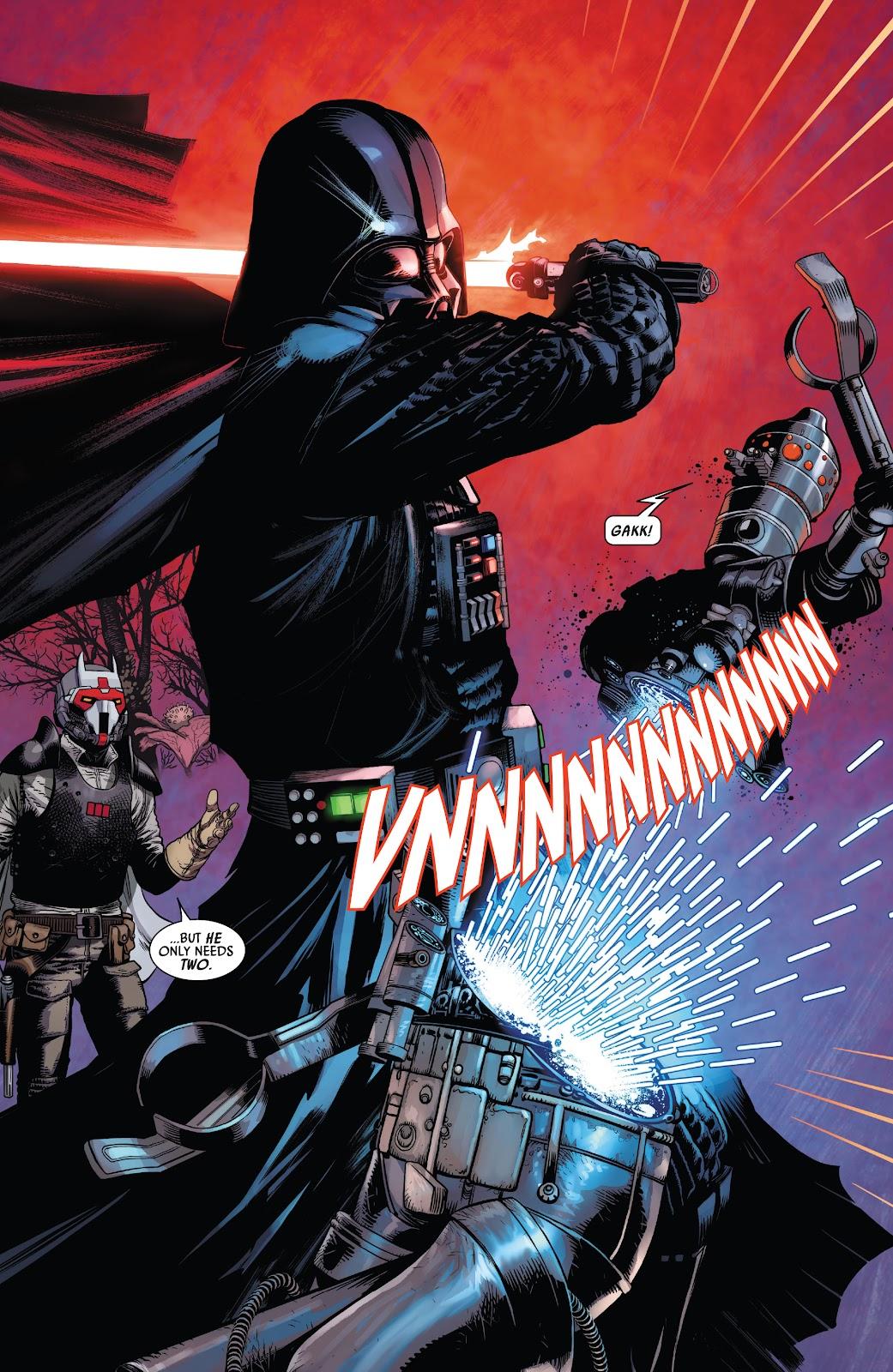 Darth Vader Destroys IG-88