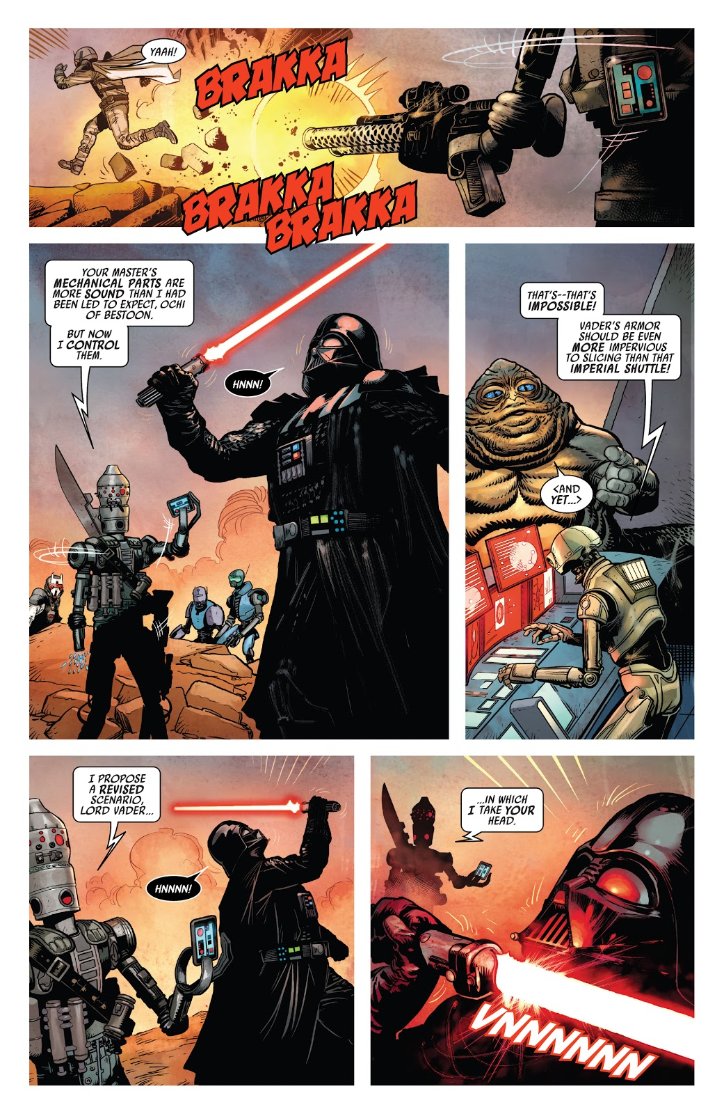 Darth Vader VS IG-88
