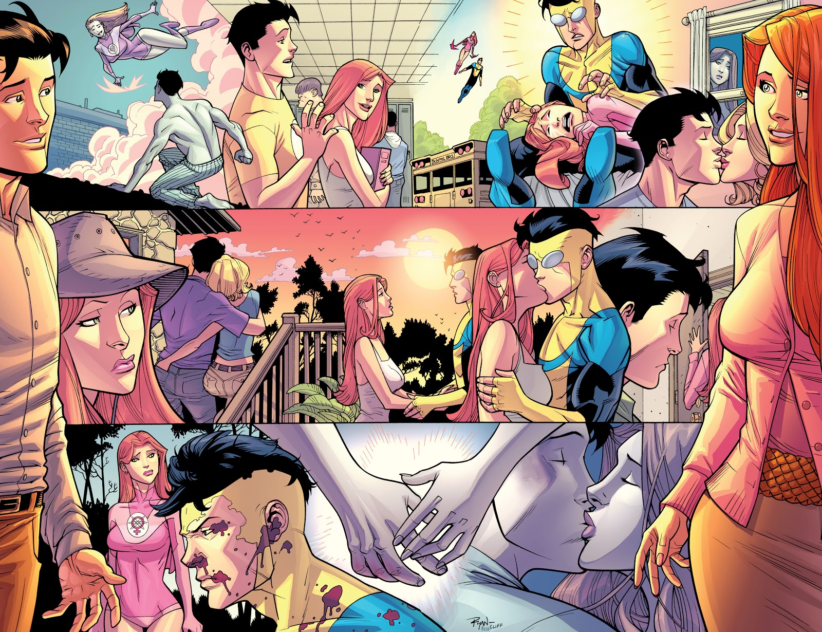 Invincible And Atom Eve Exchanges I Love Yous
