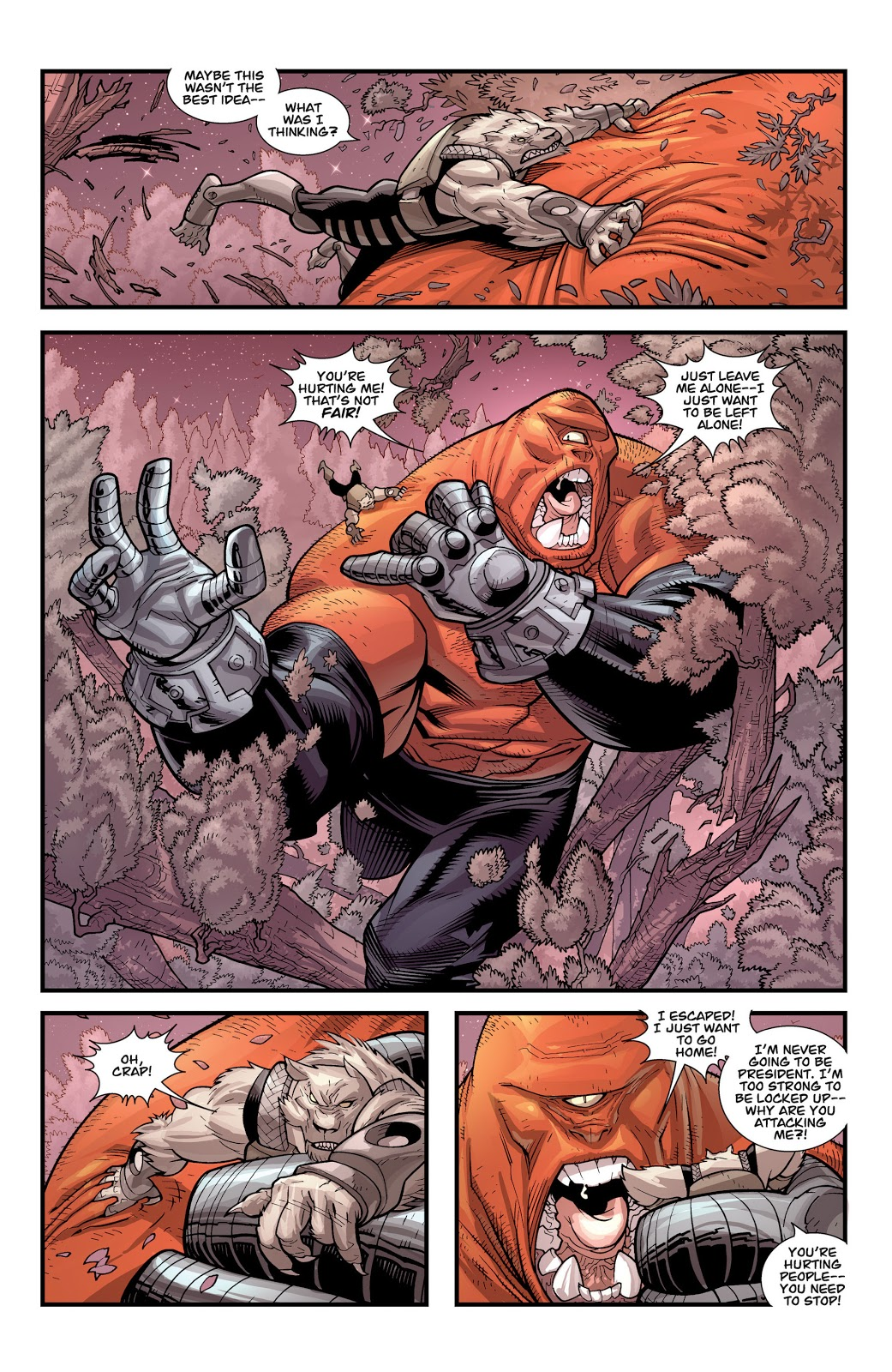 Invincible And The Astounding Wolf-Man Team Up