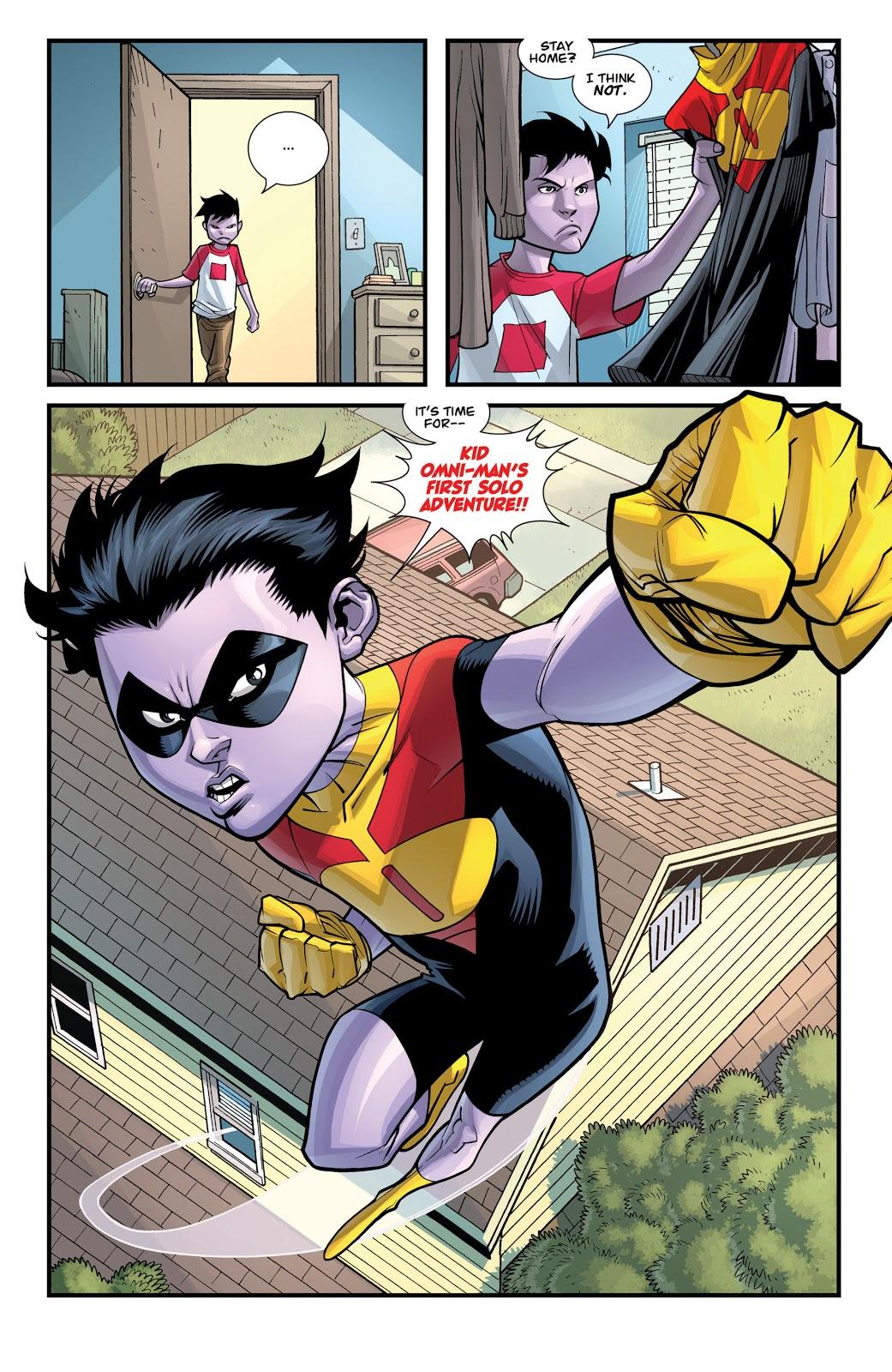 Kid Omni-Man (Invincible #56)