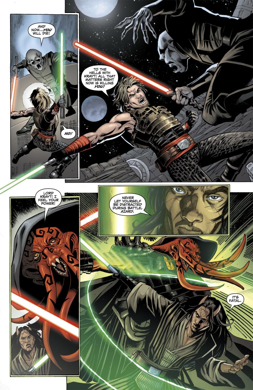 Cade Skywalker Kills Vul Isen