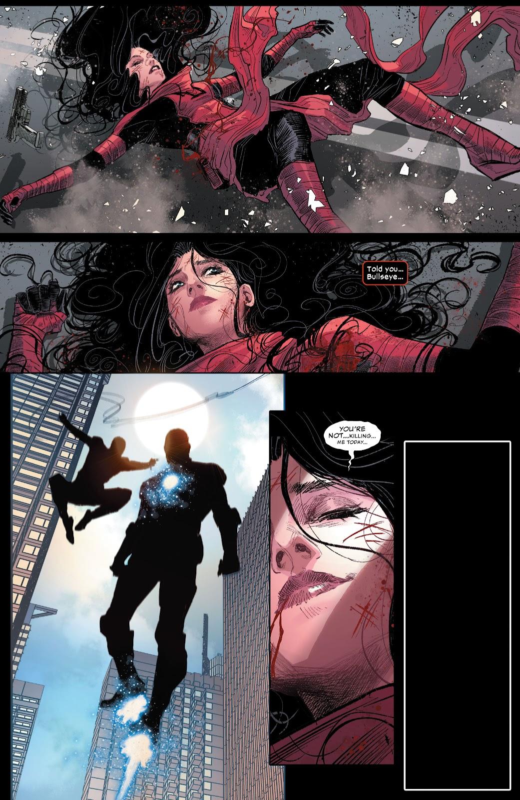 Daredevil (Elektra) VS Bullseye Clones