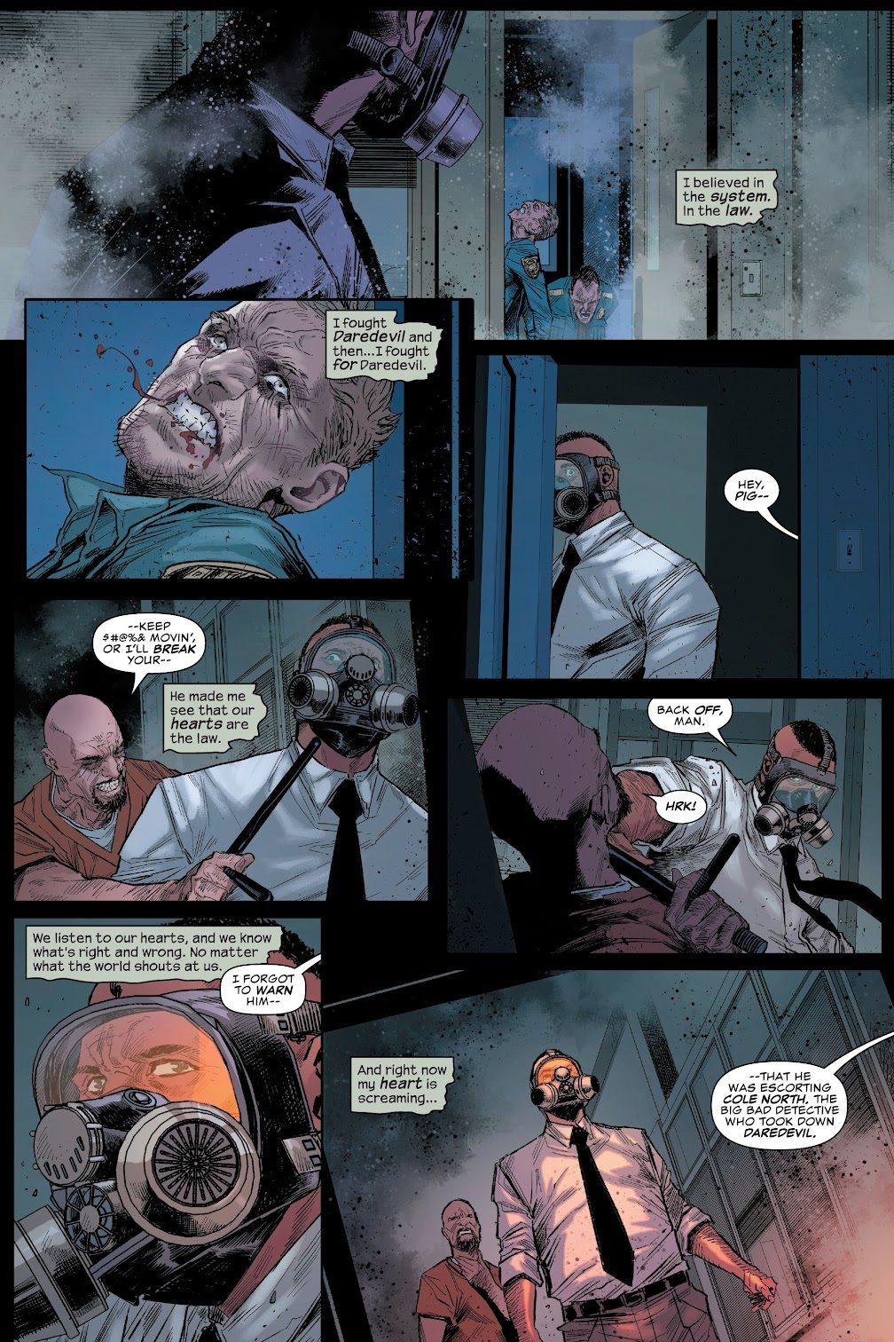 Daredevil Takes Over A Prison