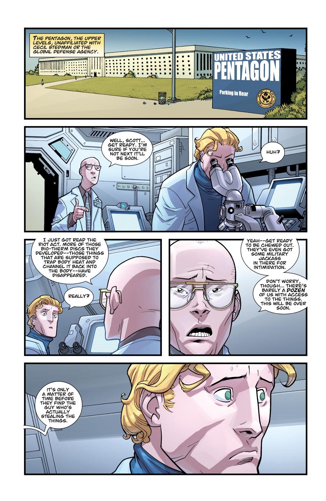 Powerplex's Origin Story