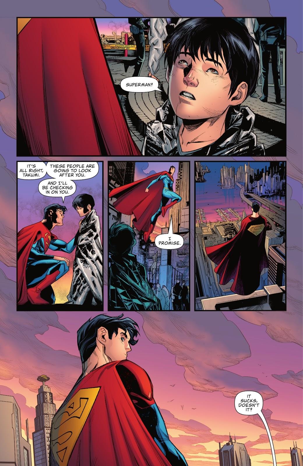 Superman (Jonathan Kent) Rescues Refugees