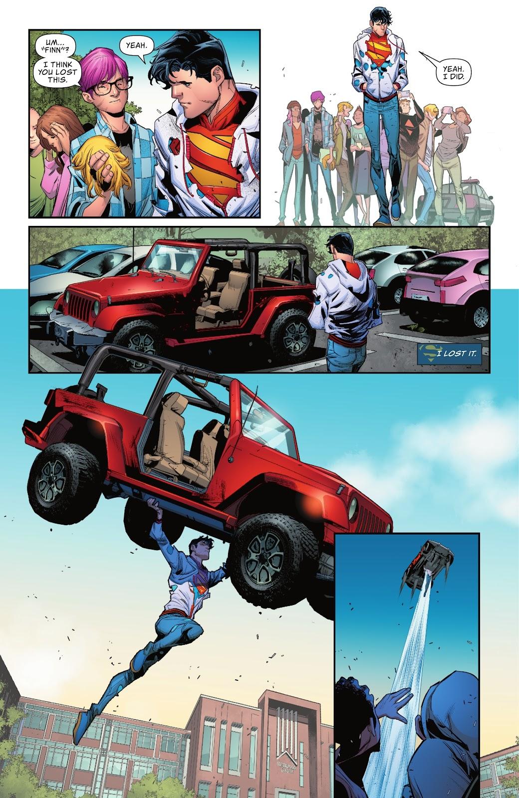 Superman's (Jonathan Kent) Secret Identity