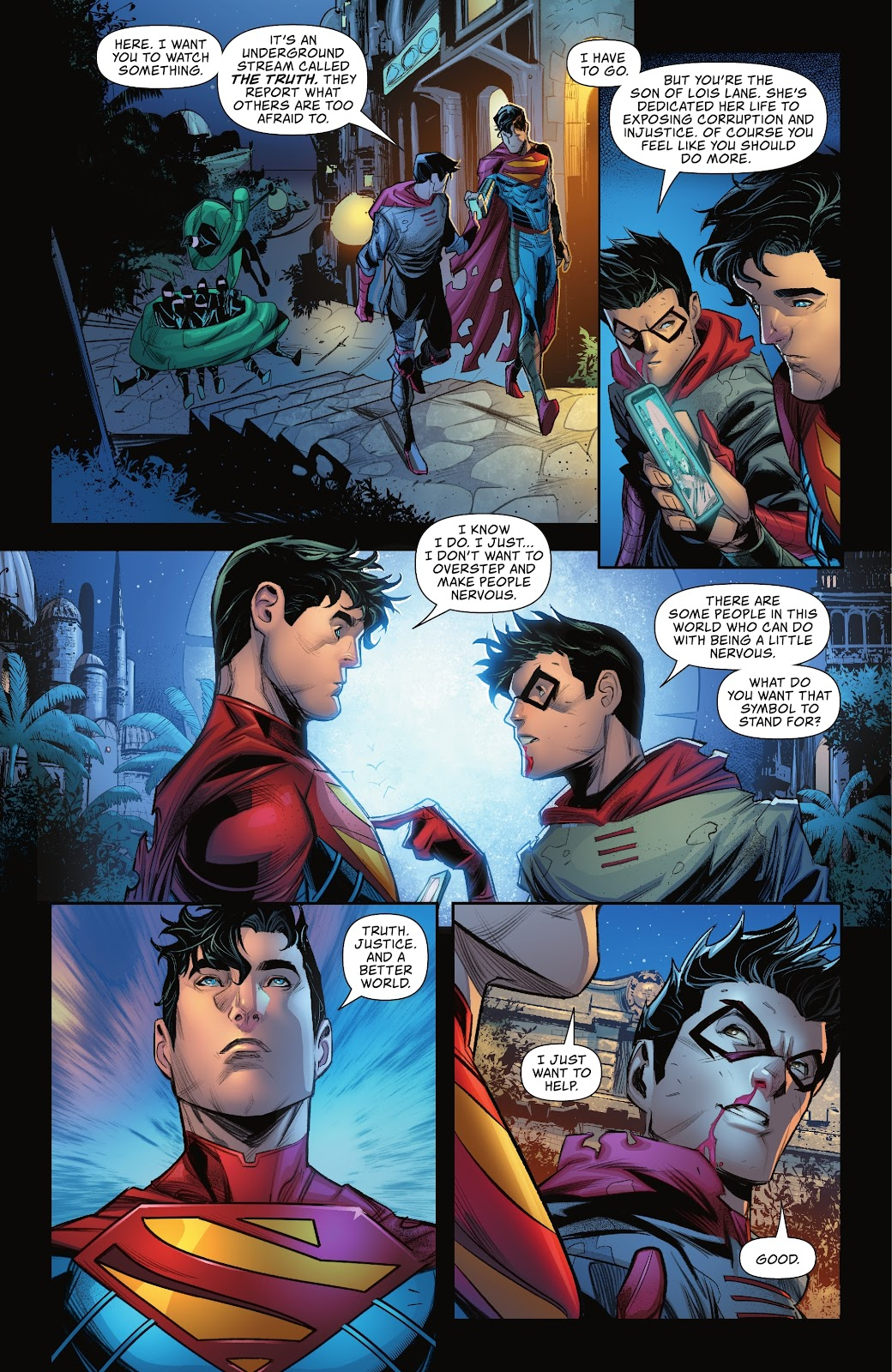 What Superman's Son Can Stand For 1
