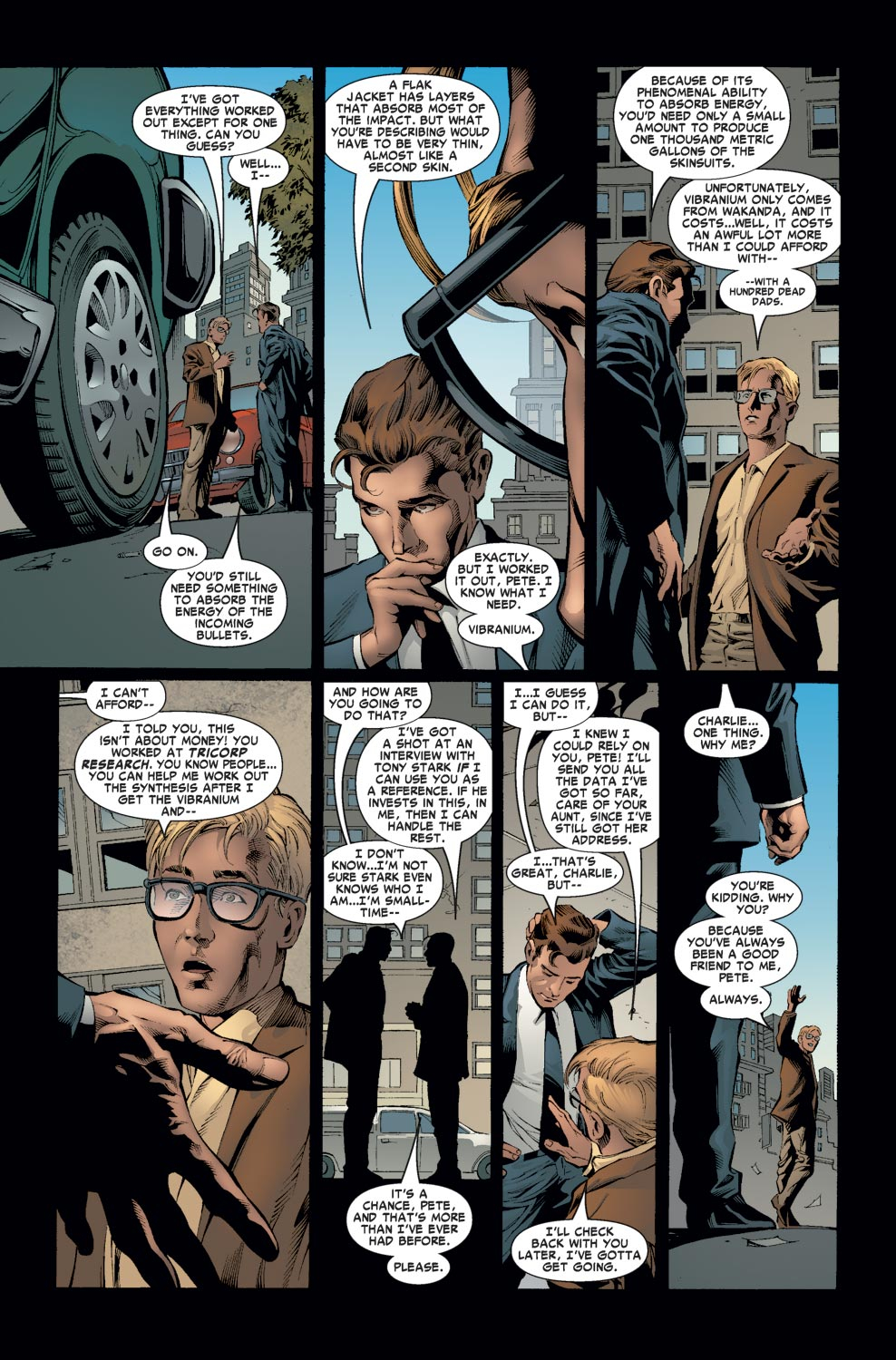 How Much Tony Stark Trusts Peter Parker