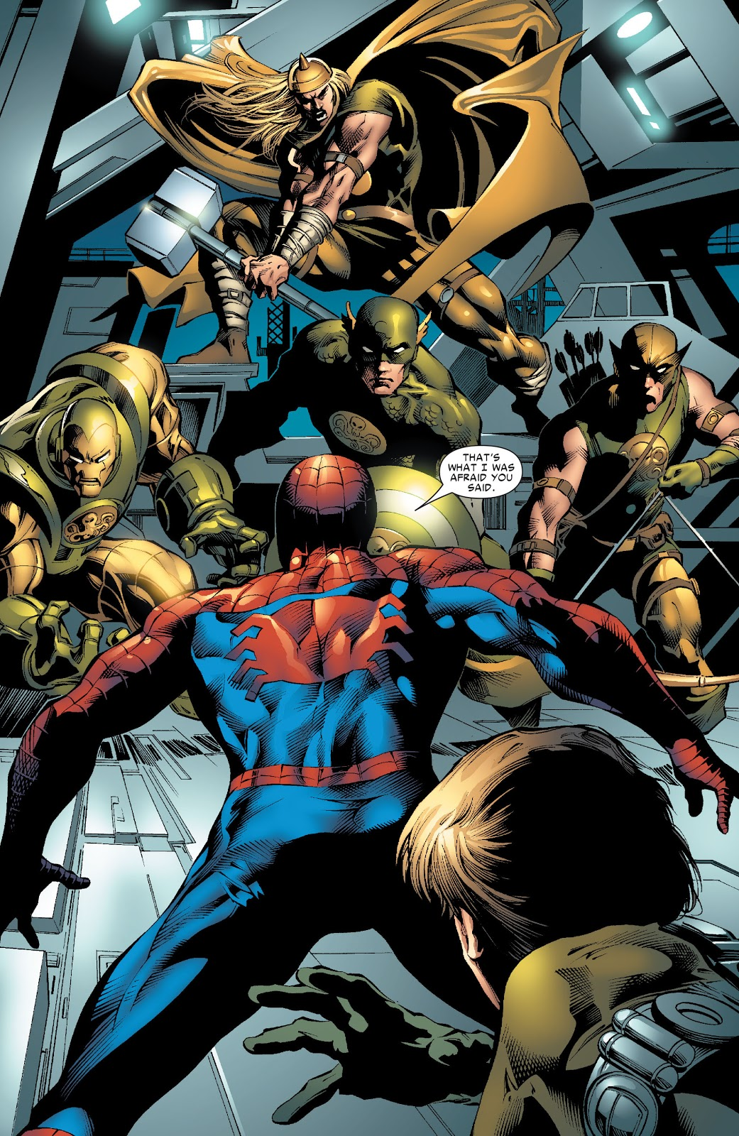 Spider-Man And The Hydra Four