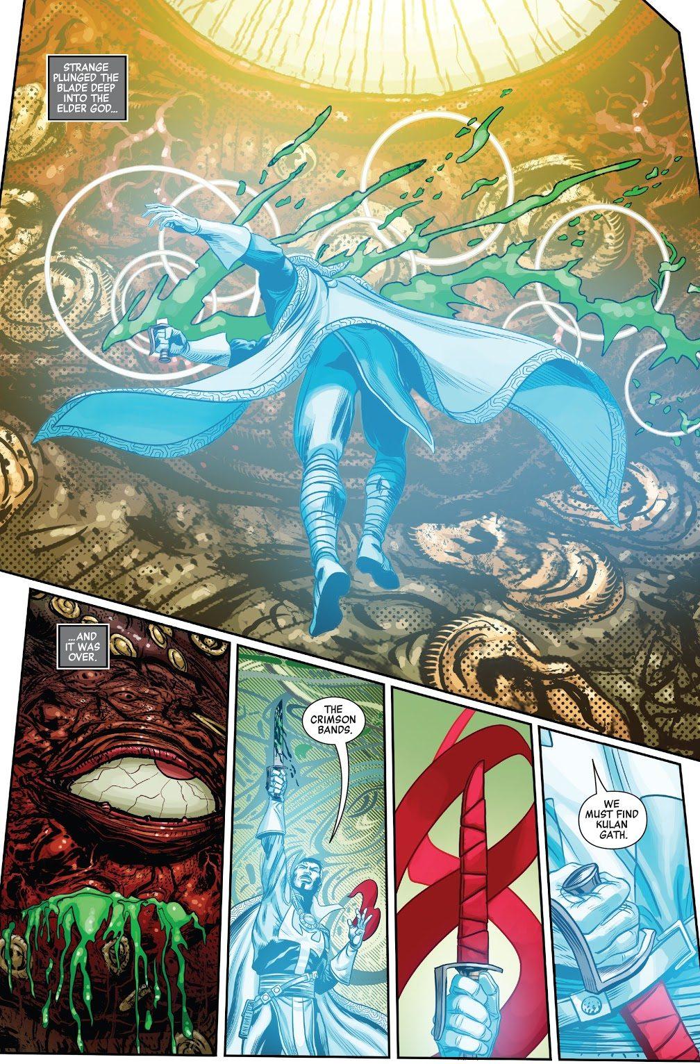 Doctor Strange Kills Shuma-Gorath