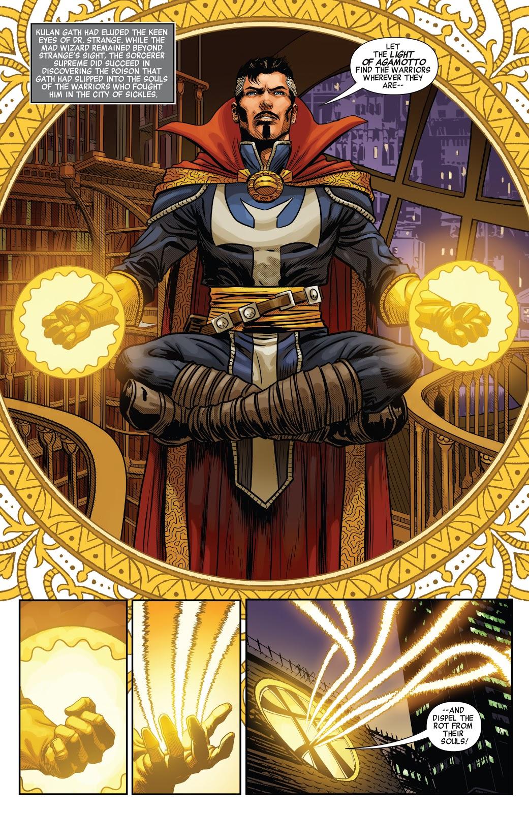 Doctor Strange (Savage Avengers #23)