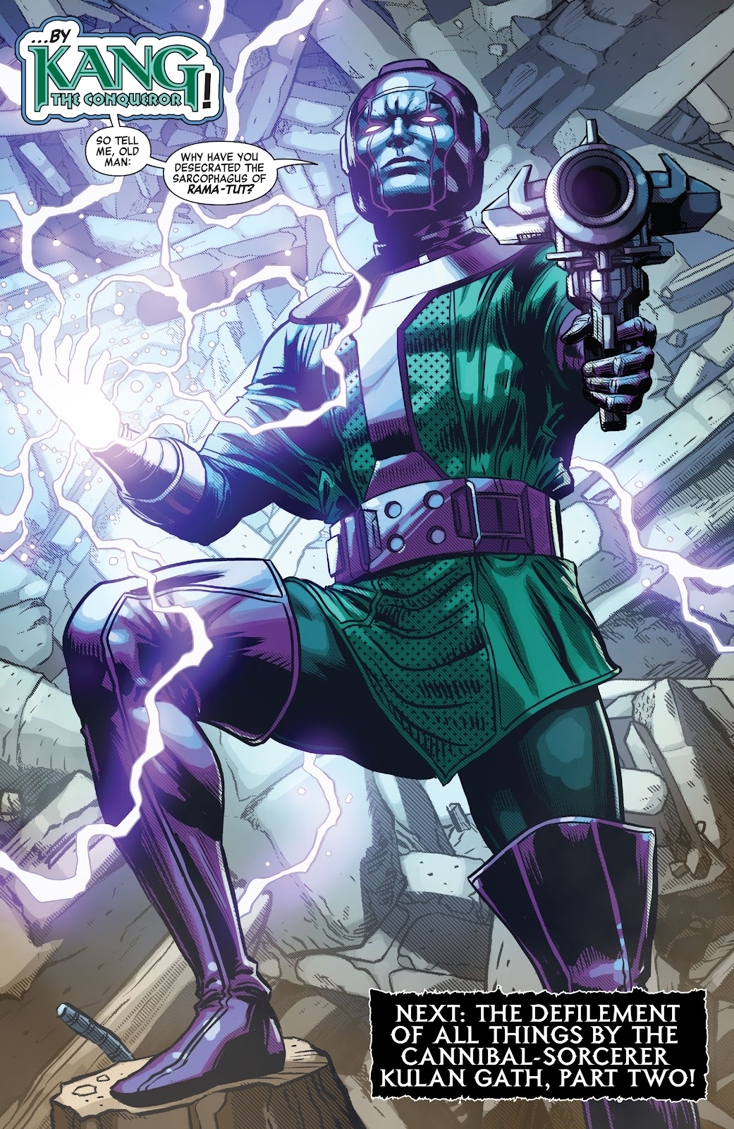 Kang The Conqueror (Savage Avengers #24)