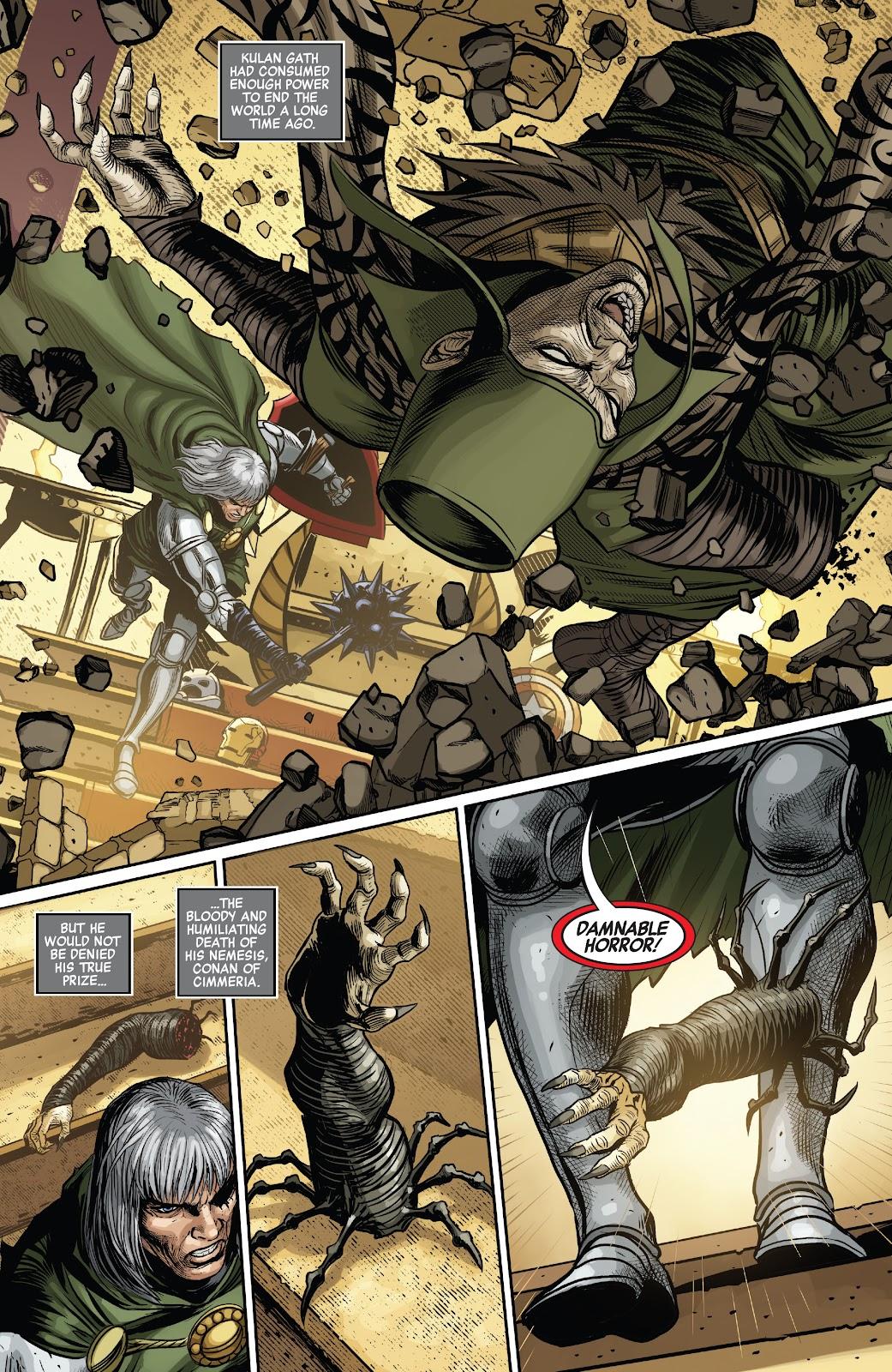 Kulan Gath Kills Conan The Barbarian