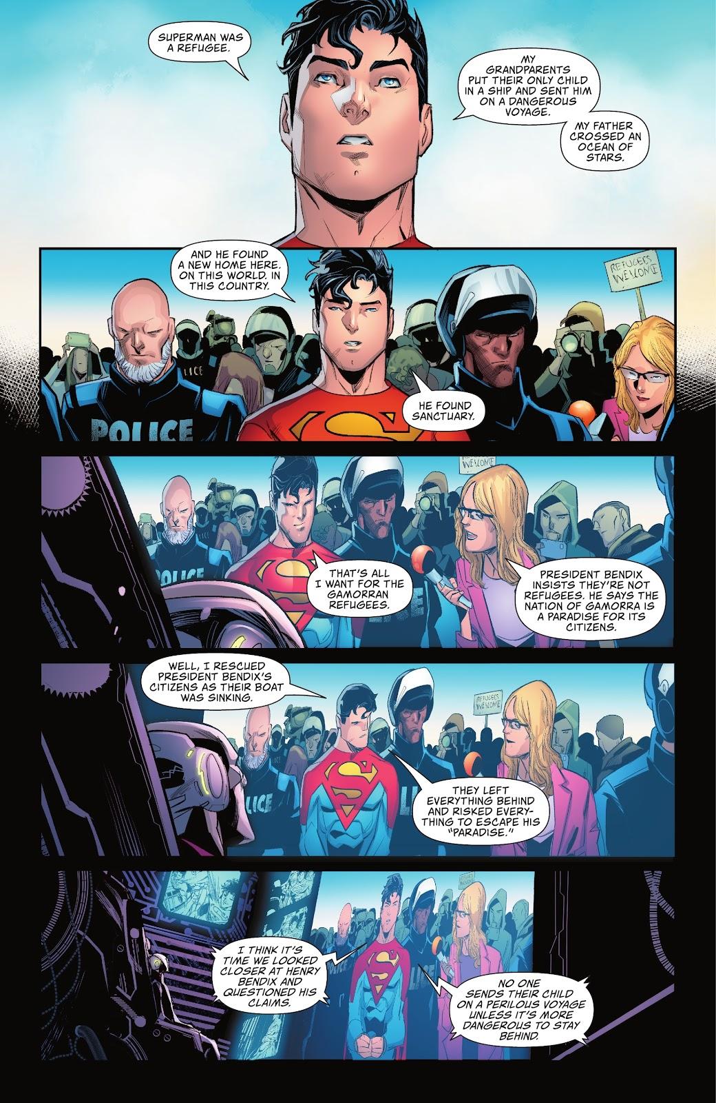 Superman Gets Arrested For Protesting