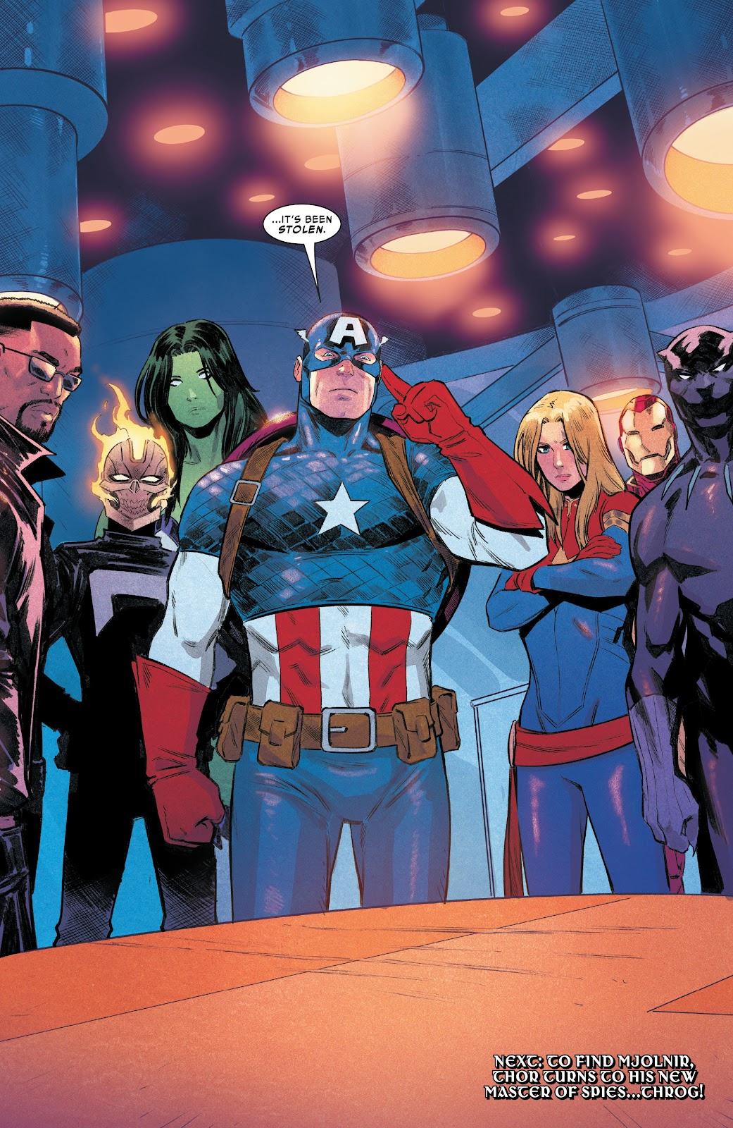 The Avengers (Thor Vol. 6 #17)