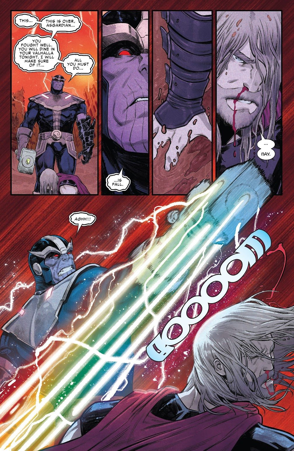 Thor's Nightmare About Thanos